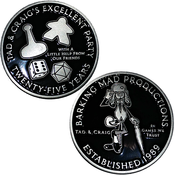 TCEP 25 Years Challenge Coin